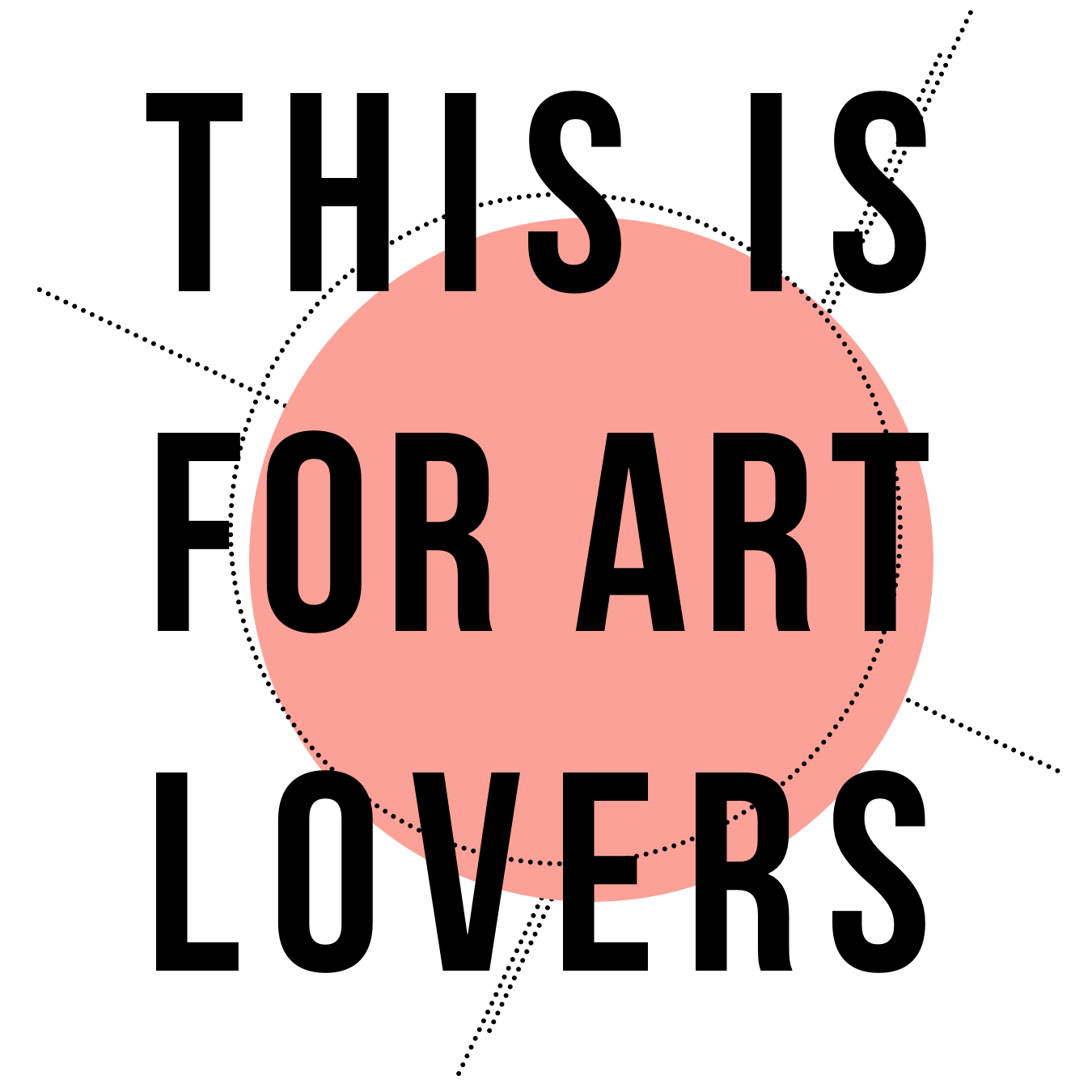 THIS IS FOR ART LOVERS Logo